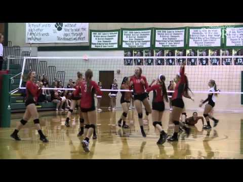 The Woodlands Volleyball Recap over Round Rock Westwood