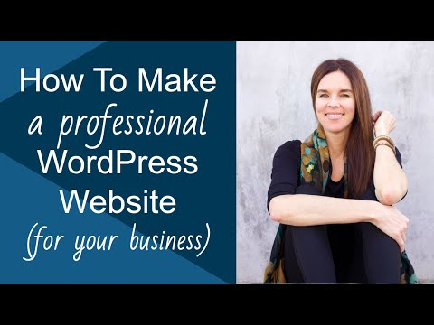 Create A WordPress Website (Genesis Executive Pro) 2014 PROFESSIONAL