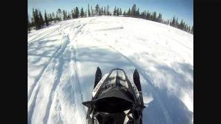 2. Polaris Pro RMK 800 155 2012. Test Ride.