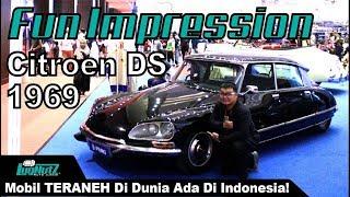 Video Mobil Paling ANEH BIN AJAIB Di Dunia Ada Di Indonesia! - Citroen DS 1969 | LugNutz AJ MP3, 3GP, MP4, WEBM, AVI, FLV Juni 2019