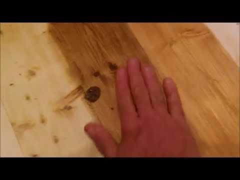Колеровка пола пропиткой Масловоск Анта в цвет древесины ЦЕННЫХ ПОРОД