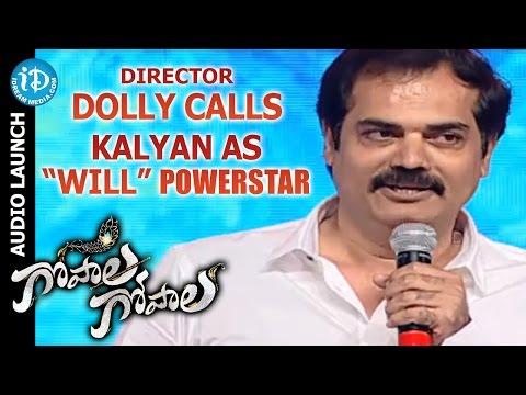 Director Dolly Calls Power Star Pawan Kalyan as