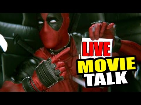 Flick Movie Talk LIVE w/ Stuckmann – DEADPOOL Movie, Batman v Superman, Free Giveaway!