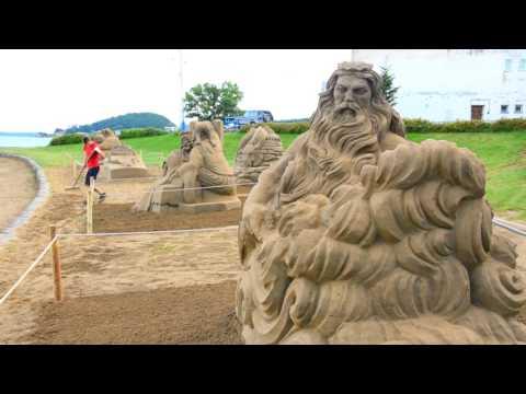 VIDEO: Na brehu Šíravy vzniklo Pieskové kráľovstvo, pozrite si tú nádheru...