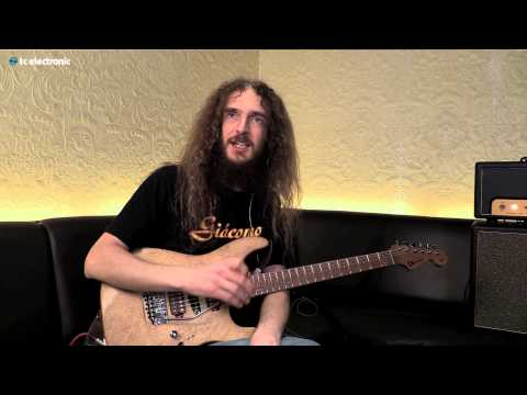 "Guthrie Govan demoes his ""Louisville"" Reverb TonePrint"