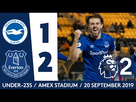 Video: AMAZING LAST-MINUTE WINNER BY ANTONY EVANS! | U23 HIGHLIGHTS: BRIGHTON 1-2 EVERTON