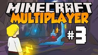 Minecraft Multiplayer Survival - Let's Play: Episode 3 - ENEMY ENCOUNTER! (Part 3)