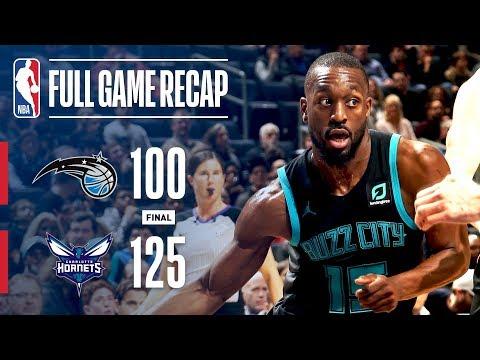 Video: Full Game Recap: Magic vs Hornets | CHA Defeats ORL