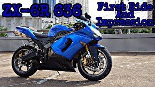 1. 2005 Kawasaki ZX6R 636 First Ride and Impressions