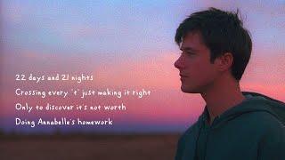Alec Benjamin - Annabelle's Homework [Official Lyric Video]
