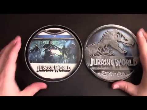 Jurassic World Bluray And Collectors Tin Consumer Review