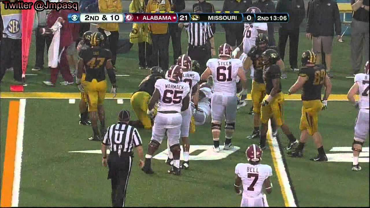 Eddie Lacy vs Missouri (2012)