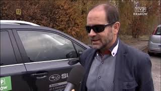 Cwaniak z Mercedesa prawie przejechał policjanta. Konkretna akcja w Krakowie