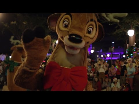 Full Mickey's Once Upon a Christmastime Parade 2016, Very Merry Christmas Party, Disney World