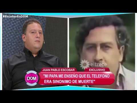 """La muerte de Pablo Escobar: """"Tengo la certeza que mi padre se suicidó"""""""