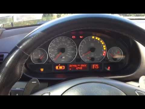 E46 BMW M3: instrument cluster and SMG review