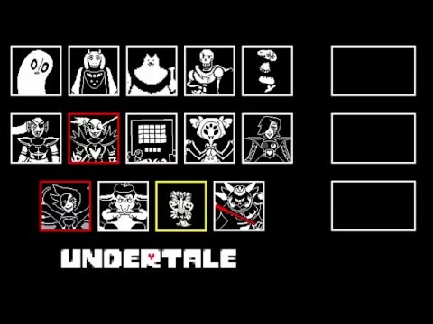 Video Undertale - All Boss Themes download in MP3, 3GP, MP4, WEBM, AVI, FLV January 2017