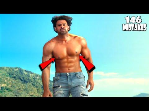 "(146 Mistakes) In Saaho - Plenty Mistakes In "" SAAHO "" Full Hindi Movie - Prabhas & Shraddha Kapoor"