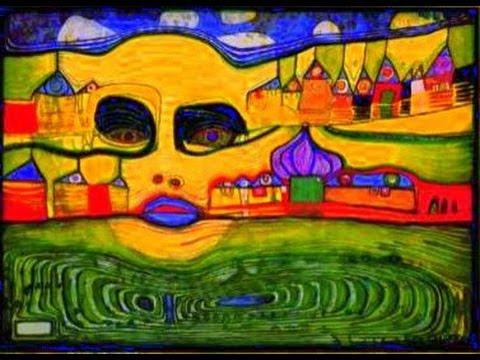 F. HUNDERTWASSER. LOREENA MC KENNIT. THE MYSTIC DREAM. + LYRICS.
