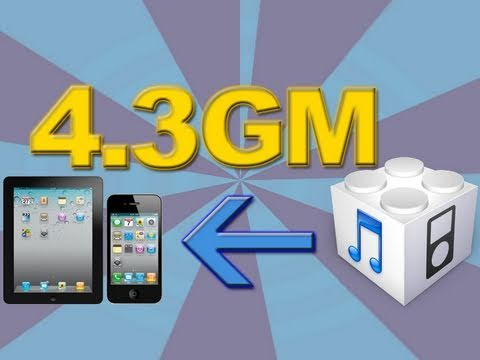 Install iOS 4.3 GM – iPhone 4/3GS, iPod Touch 4G/3G & The iPad – Guide