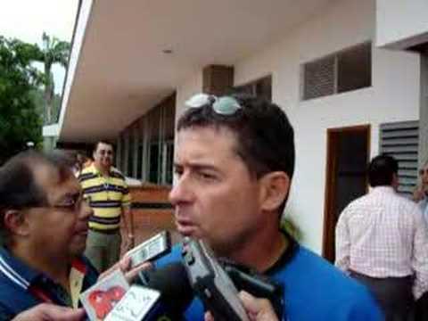 Algunas declaraciones de Pedro Sarmiento (Abril 2008)
