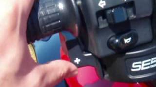 6. How to change gear on BRP Can-Am Spyder SE5
