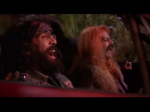 Cheech and Red gets abducted by the UFO (cheech & chong: next movie)