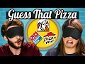 GUESS THAT PIZZA CHALLENGE! (Teens Vs Food)