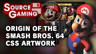 Origins of the Smash 64 CSS Artwork – Source Gaming