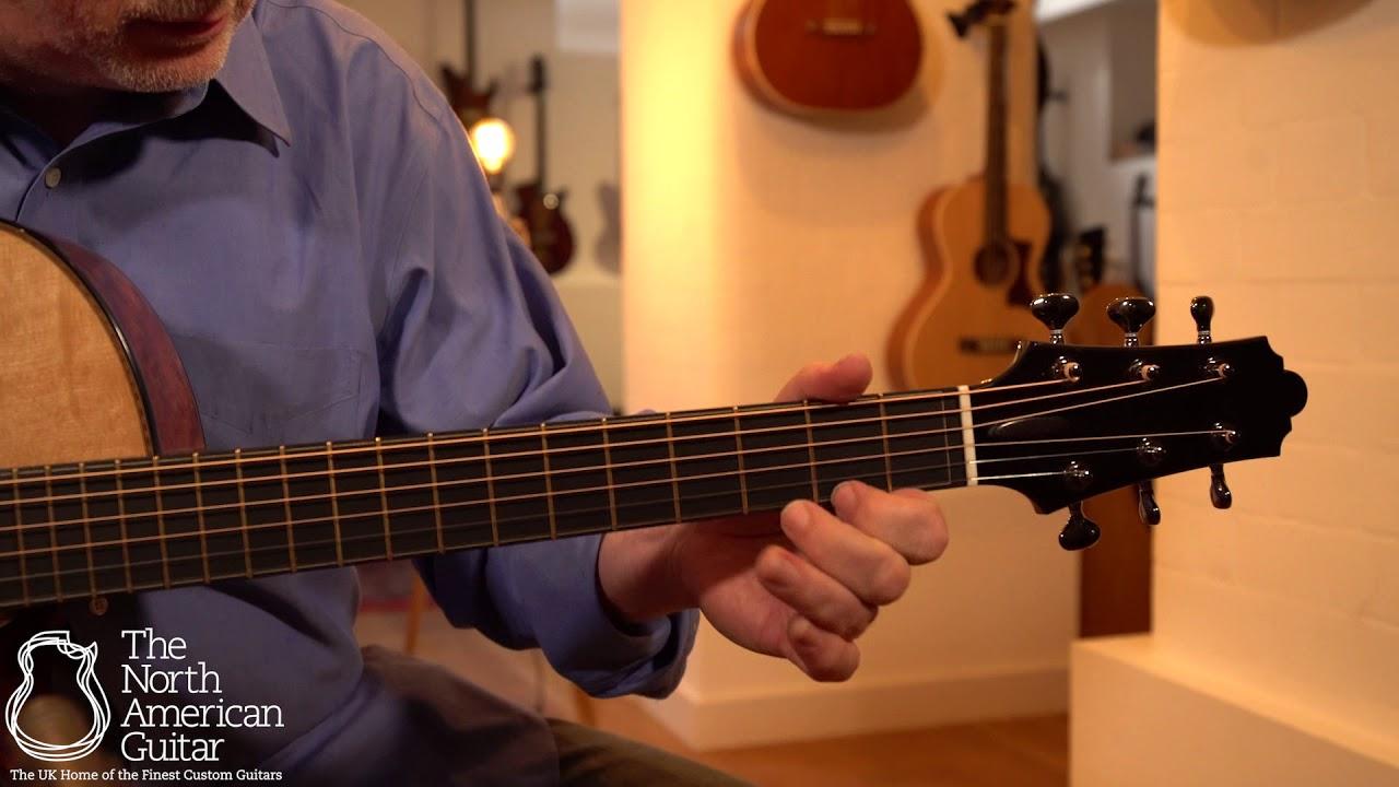 Beauregard Guitars OM Cutaway Acoustic Guitar Played By Tony McManus (Part One)