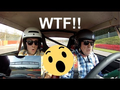 WE LOST Steering Wheel On a Race Track!