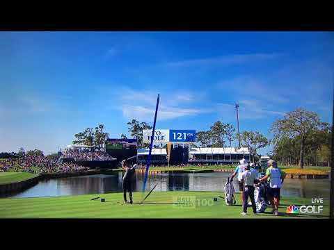 2019 Players Championship - 17th hole (the island green) - Hole in one!!