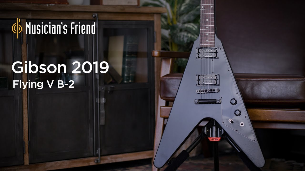 Gibson 2019 Flying V B-2 Electric Guitar Demo