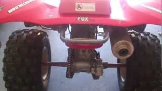 7. How Tighten Chain On Four Wheeler/Quad. Tips & Tricks #2