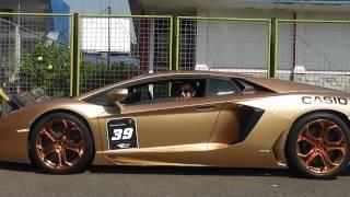 Video Lamborghini Club Indonesia arrival in Sentul Circuit MP3, 3GP, MP4, WEBM, AVI, FLV November 2017