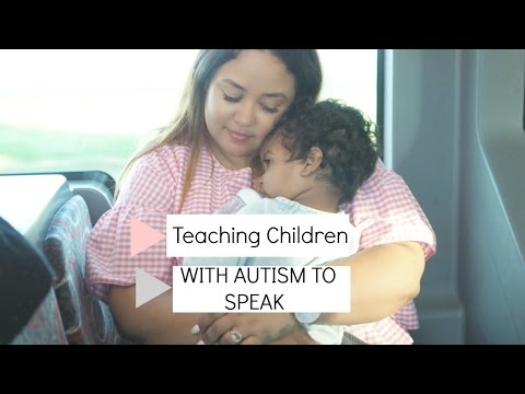 Teaching Children with Autism To Talk