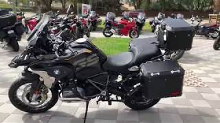 10. 2019 BMW R 1250 GS TRIPLE BLACK at Euro Cycles of Tampa Bay Florida