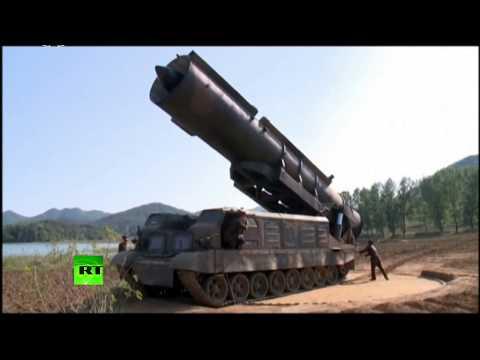 Видео запуска КНДР баллистической ракеты средней дальности - DomaVideo.Ru