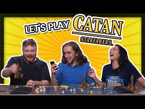 Let's Play Catan: Starfarers! CATAN IN SPAAAAAAAACE