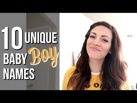 BABY NAMES WE LOVE BUT WON'T BE USING // Unique Baby Boy Name Ideas