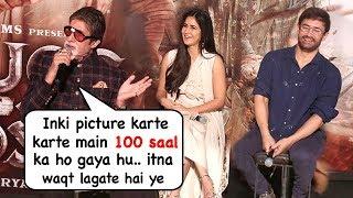 Video Amitabh Bachchan Makes FUN Of Aamir Khan At Thugs Of Hindoston Trtailer Launch MP3, 3GP, MP4, WEBM, AVI, FLV Desember 2018
