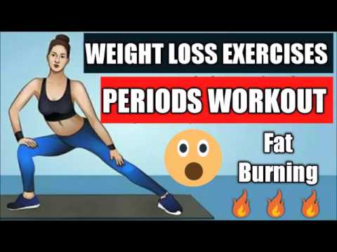 Fat burner - PERIOD EXERCISE WORKOUT TO DO DURING PERIOD  5 MIN FAT BURNING WORKOUT