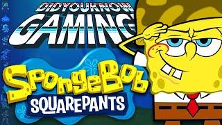 Video SpongeBob Squarepants Games - Did You Know Gaming? Feat. Nostalgia Trip MP3, 3GP, MP4, WEBM, AVI, FLV Maret 2018