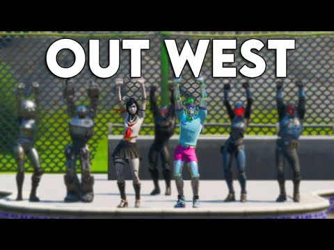 Travis Scott - OUT WEST (Official Fortnite Music Video) Tik Tok Dance