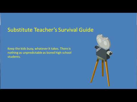 Substitute Teacher's Survival Guide Part 26 - High School