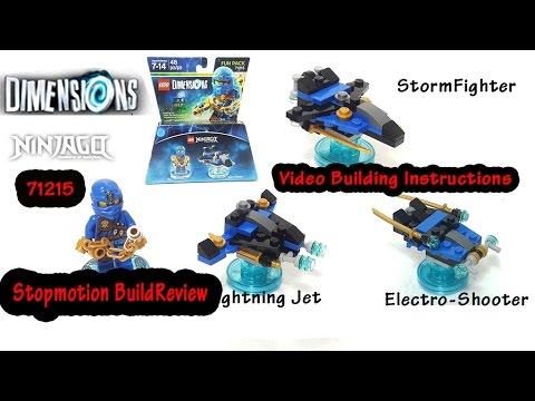 Vidéo LEGO Dimensions 71215 : Pack Héros : Jay