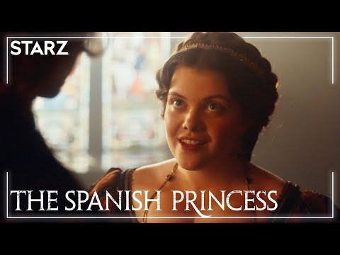 'Forbidden Kiss' Ep. 3 Clip | The Spanish Princess Part 2 | STARZ