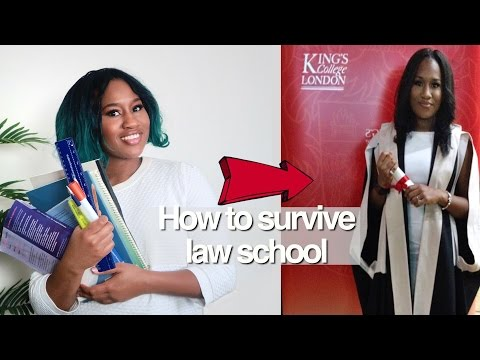 How I survived law school 👩🏾🎓| 5 tips to make it through university Successfully
