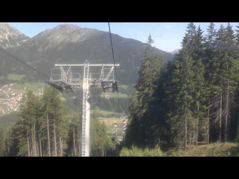Serlesbahnen - Kolej Linowa Serles Austria Dolina Stubai (видео)