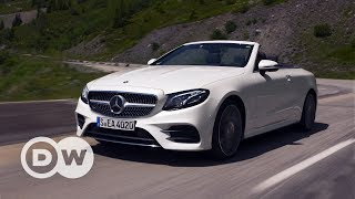The new E-Class convertible rounds off Mercedes-Benz's E-Class family. And it's big: 12 centimeters longer, 7 centimeters wider, and it has an 11-centimeter longer wheelbase than its predecessor. That translates into plenty of space.http://www.dw.com/en/tv/drive-it/s-9690